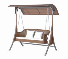 Wooden Swinging Chair